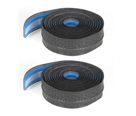 Fizik Styrbånd - Superlight Tacky - 2 mm tyk - Sort