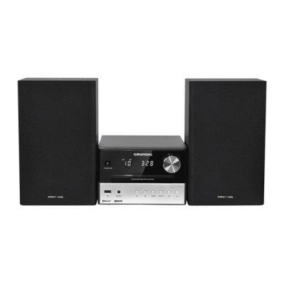 Grundig M1000Bt - Musikanlæg Med Cd Afspiller, Bluetooth Og Radio 30W - Sort