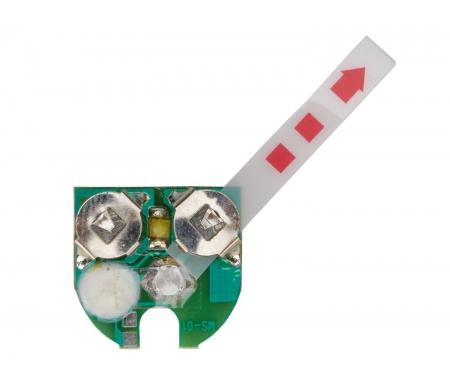 Printplade til forlygte med 1 LED
