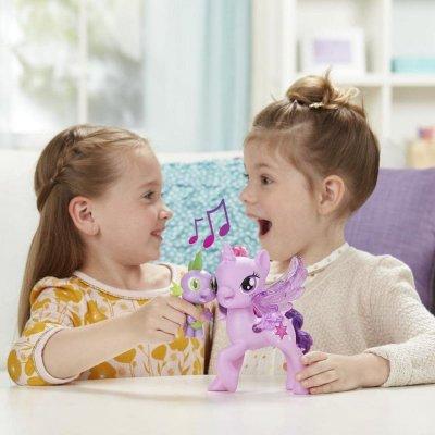 My Little Pony Figurer - Prinsesse Twilight & Dragen Sparkle Spike