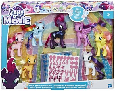 My Little Pony Legetøj Sæt - Cutie Mark Collection