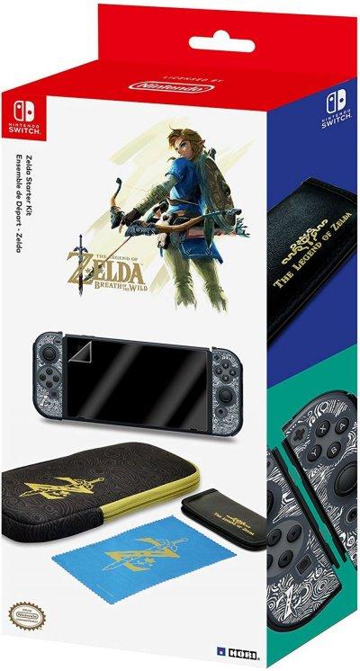 Hori Zelda Breath Of The Wild Starter Kit - Tilbehørssæt Til Nintendo Switch