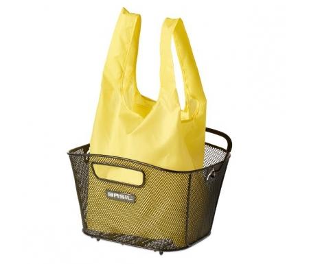 Basil - Keep shopper - Indkøbspose til kurv - Gul