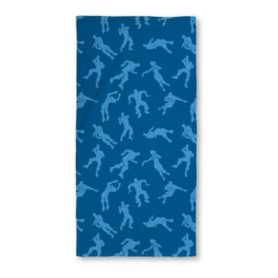 Fortnite - Håndklæde - 70X140 Cm - Blå