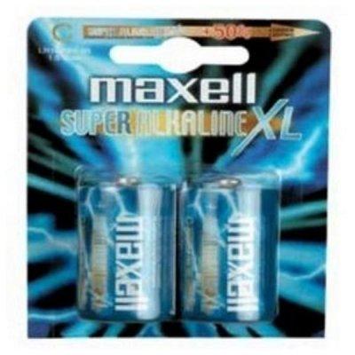 Maxell Super Alkaline Batterier Xl - C 1.5V Mn1400 - 2 Stk