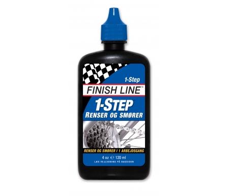 Olie Finish Line 1 Step 120ml drypflaske blå