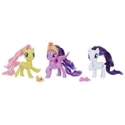 My Little Pony - Equestria Friends Figurer - 3-Pak