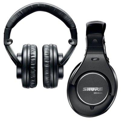 Shure Srh840 Over-Ear Studie Hovedtelefoner