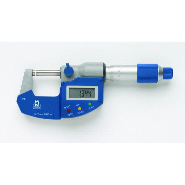 M&W Digital IP54 50-75mm Mikrometerskrue
