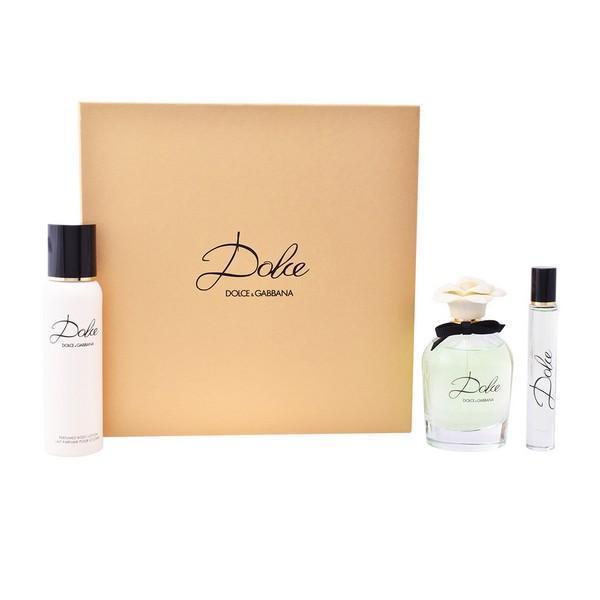 Parfume sæt til kvinder Dolce Dolce & Gabbana (3 pcs)