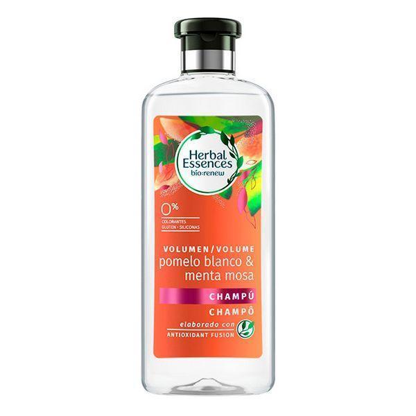 Shampoo til volumen Bio Volumen Pomelo Blanco & Menta Mosa Herbal (400 ml)