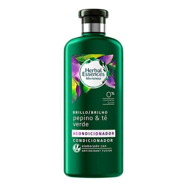 Forfriskende Hårbalsam Bio Brillo Pepino & Té Verde Herbal (400 ml)