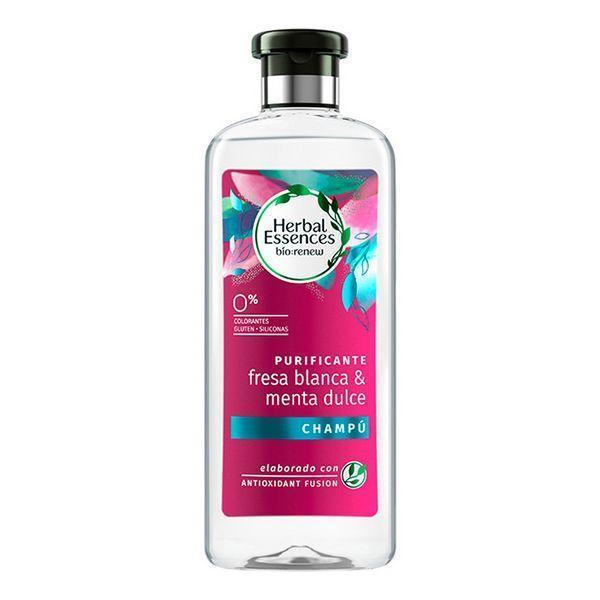 Shampoo Bio Purificante Fresa Blanca Herbal (400 ml)