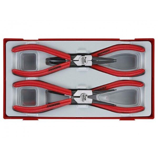 Låseringstang til ind og udvendige låseringe Teng Tools TT474-7