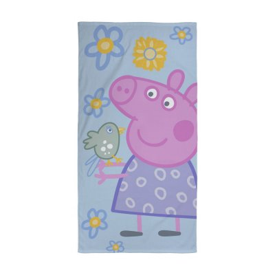Gurli Gris - Håndklæde - 70X140 Cm - Blomster