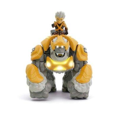 Gormiti Hyper Beast Figur + Hearlds, Gorok & Trek - 7 Cm