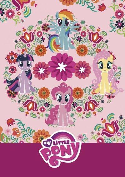 My Little Pony Malebog - Lyserød - Pattern