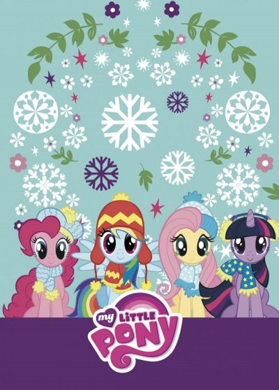 My Little Pony Malebog - Vinter - Winter