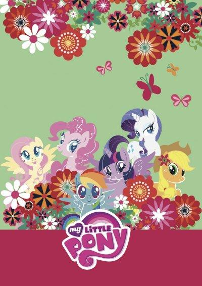 My Little Pony Malebog - Grøn - Flower