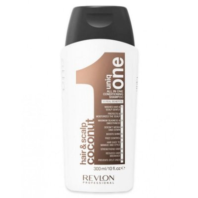 Revlon Uniq One Conditioning Shampoo All In One Coconut - 300 Ml