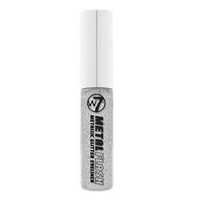 Metallic Glitter Eyeliner - Metal Flash - Silver
