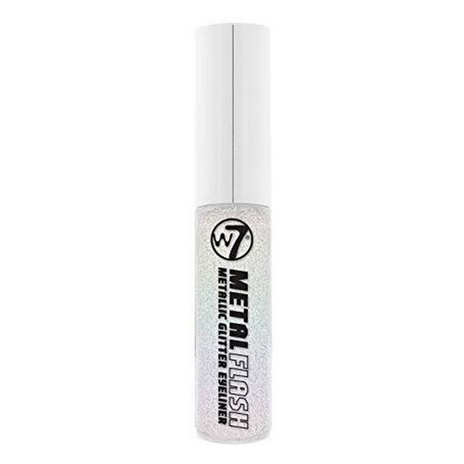 Metallic Glitter Eyeliner - Metal Flash - White