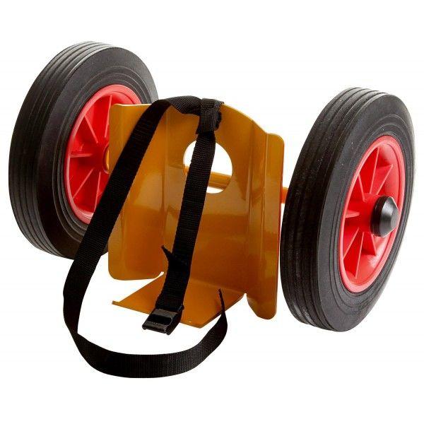 Mini gasflakse vogn massive hjul