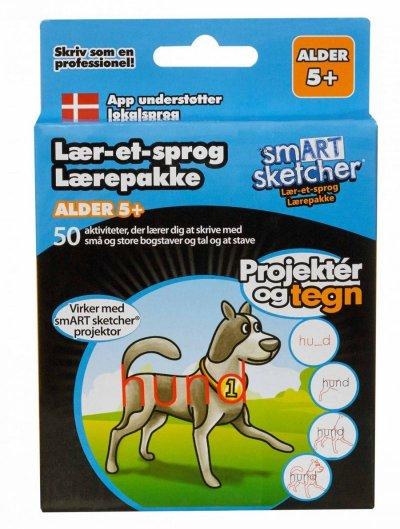 Smart Sketcher Tilbehør - Lær-Et-Sprog Pakken