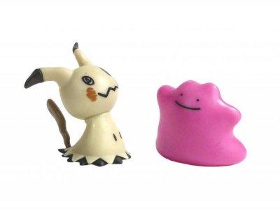 Pokémon Battle Pack Figur - Mimikyu Og Ditto - 5 Cm