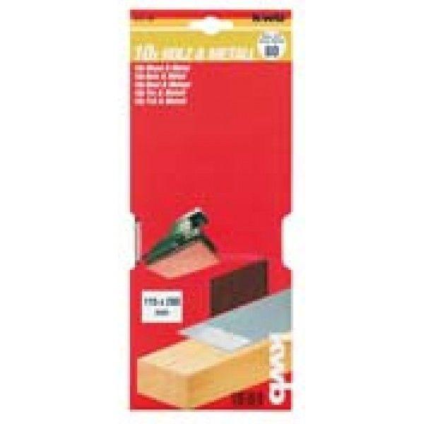 Slibepapir Korn 240 - 115 X 280 mm