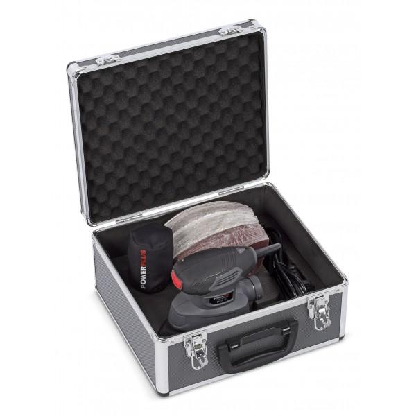 Slibemus 140 Watt i kuffert med 100 stk.