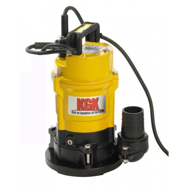 Dykpumpe Kgk EUF50 med fladsug