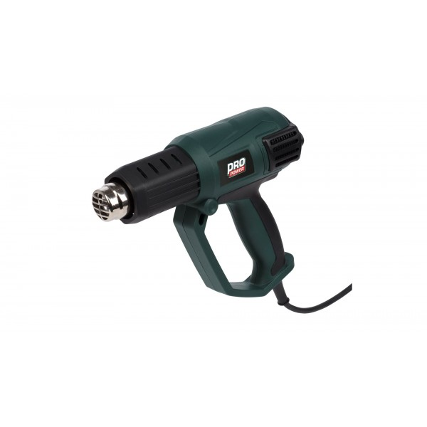 Varmepistol 2000 watt - ergonomisk greb
