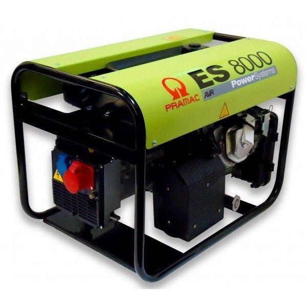 Generator ES8000SHHPI 230v, AVR, 11 L. ta