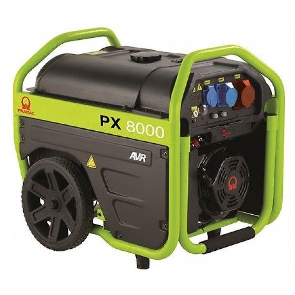 PX8000S 230v generator med el-start fra Pramac.