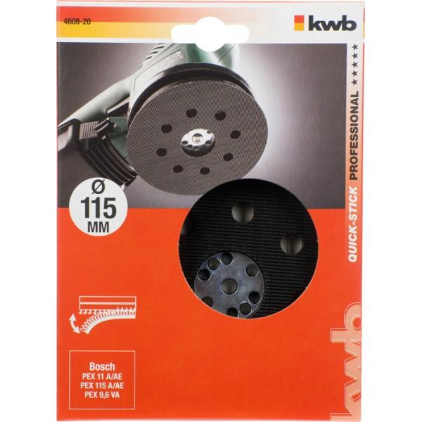 Velcro Bagskive 115 mm