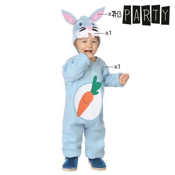Kostume til babyer Kanin Blå