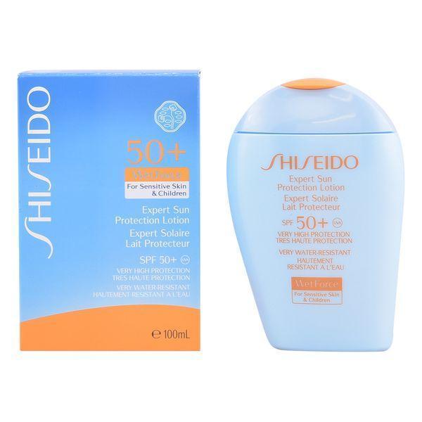 Solcreme til børn Expert Sun Shiseido Spf 50 (100 ml)