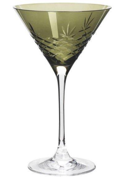 Frederik Bagger Glas - Crispy Emerald Cocktail Krystal Glas - 2 Pak