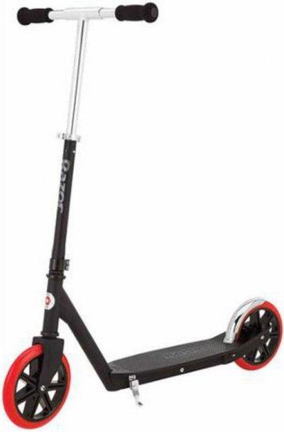 Razor Løbehjul Med Store Hjul - Carbon Lux Sort