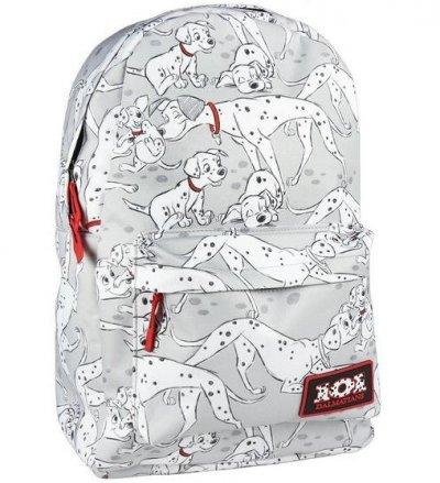 101 Dalmatinere Skoletaske - Grå Hvid Sort