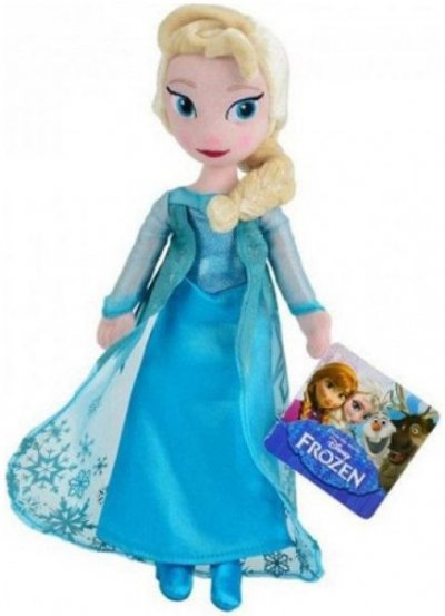 Disney Frost Elsa Bamse - 25 Cm