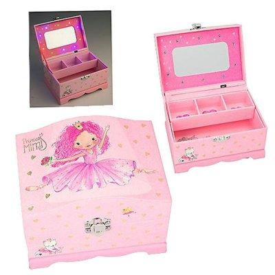 Princess Mimi - Smykkeskrin Med Lys - Pink