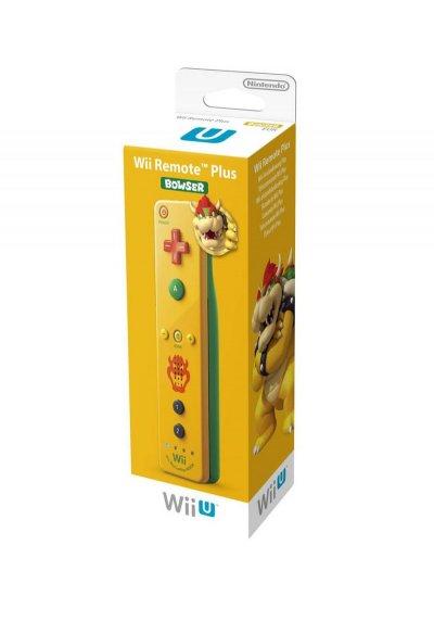 Nintendo Wii U / Wii Remote Plus - Bowser Edition