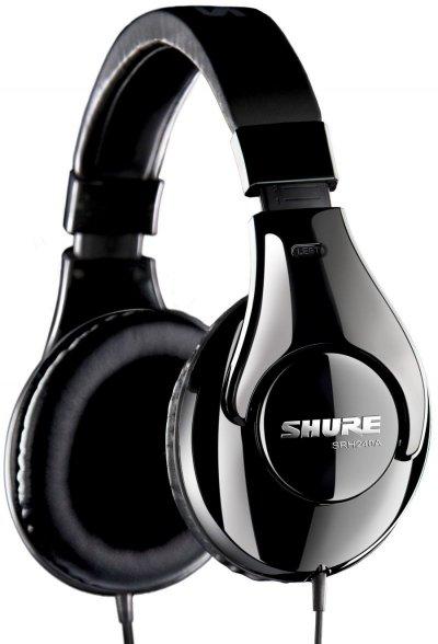 Shure Srh240A Over-Ear Professionelle Lukkede Hovedtelefoner
