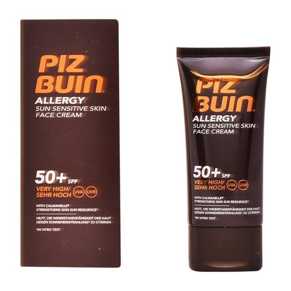 Solcreme til ansigtet Allergy Piz Buin Spf 50 (50 ml)