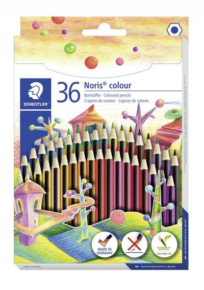 Staedtler Noris Colour Farveblyanter - 36 Stk