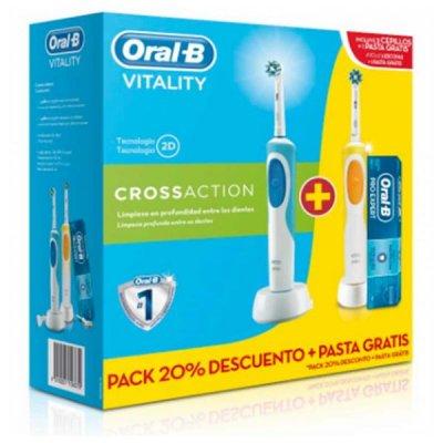 Oral-B - Elektrisk Tandbørste - Vitality Cross Action - 3 Stk
