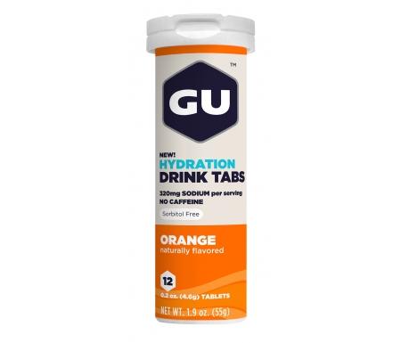 GU Hydration Tabs - Orange - 1 x 12 stk.