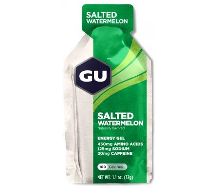 GU Energy Gel - Salted Watermelon - 20 mg koffein - 32 gram